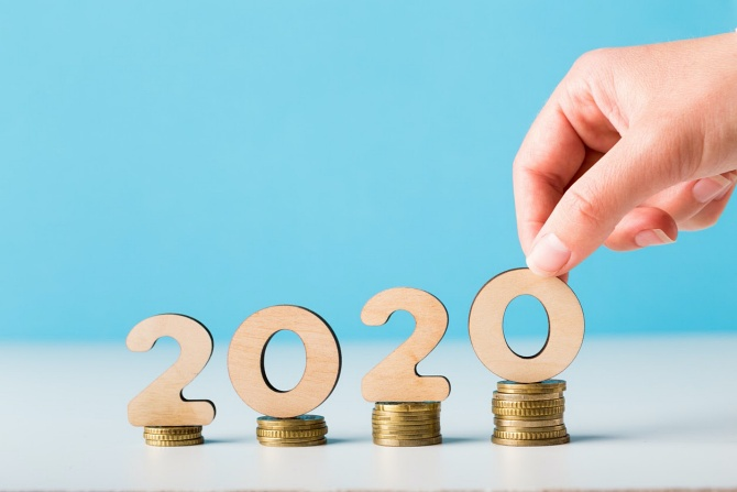 Saving money in 2020 with a fluctuating income